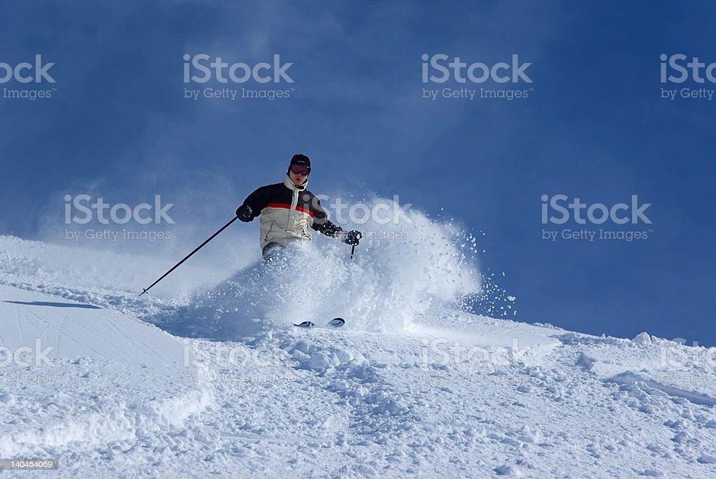 skier 5 royalty-free stock photo