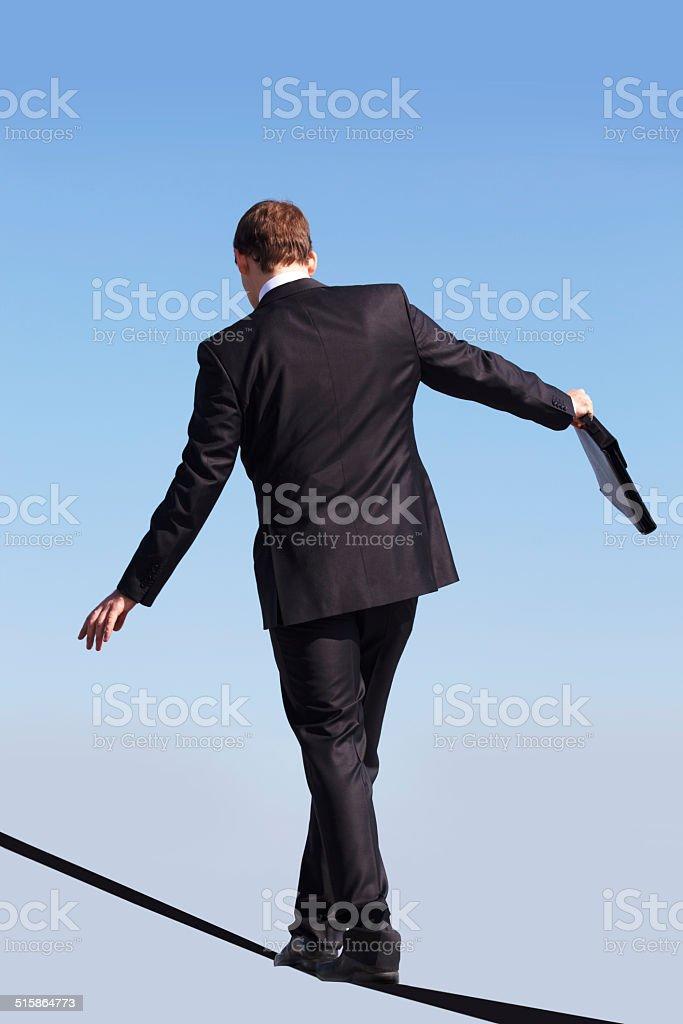 Skilled man stock photo