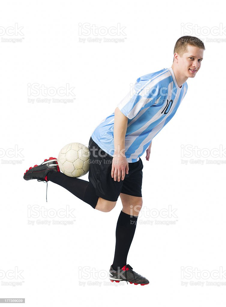 Skillful player royalty-free stock photo