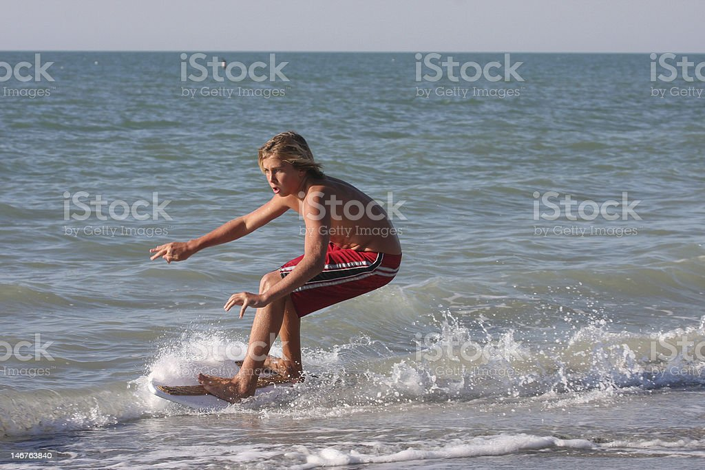 Skim 1 stock photo