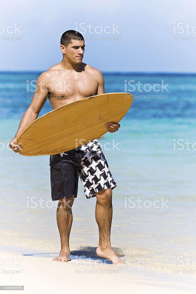 skimboard royalty-free stock photo