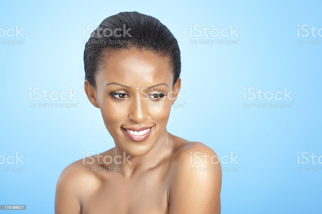 Skin and beauty care. royalty-free stock photo