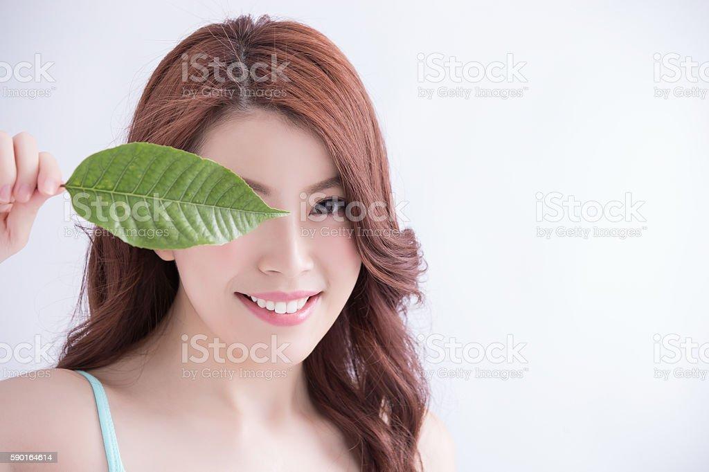 skin care and organic cosmetics stock photo