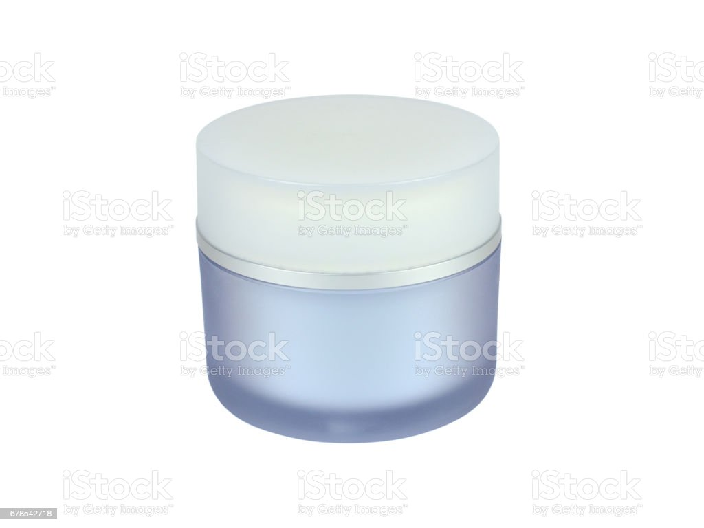 Skin Care Container stock photo