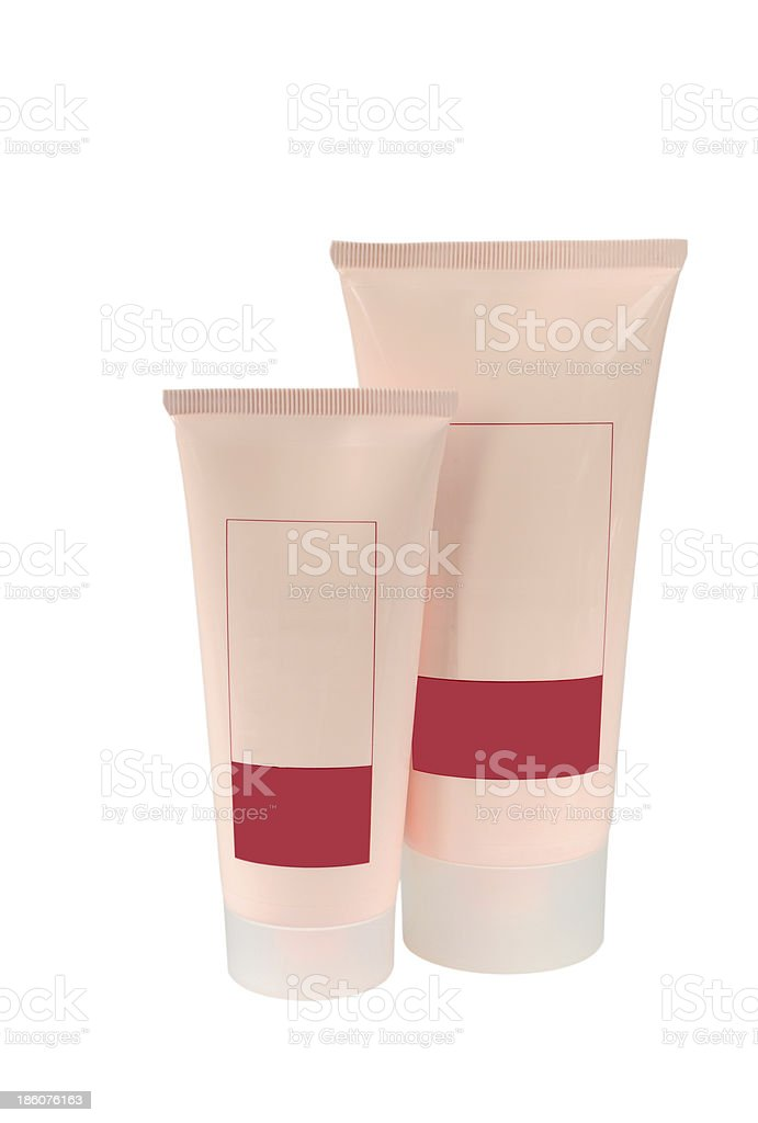 Skin care products royalty-free stock photo