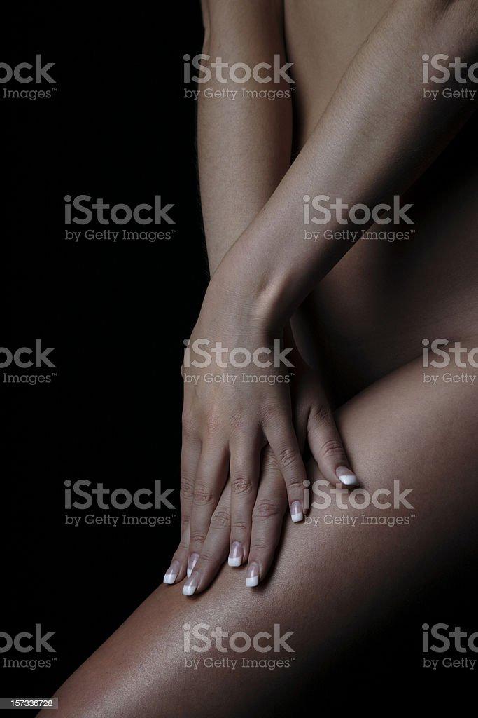Skin Portaits Fingertips royalty-free stock photo