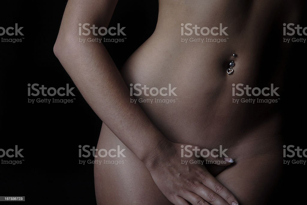 Skin Portraits Curved royalty-free stock photo