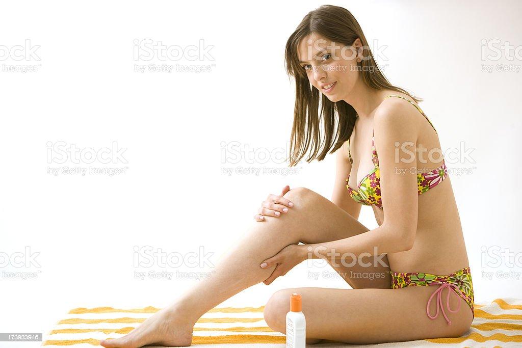 Skin Protection royalty-free stock photo