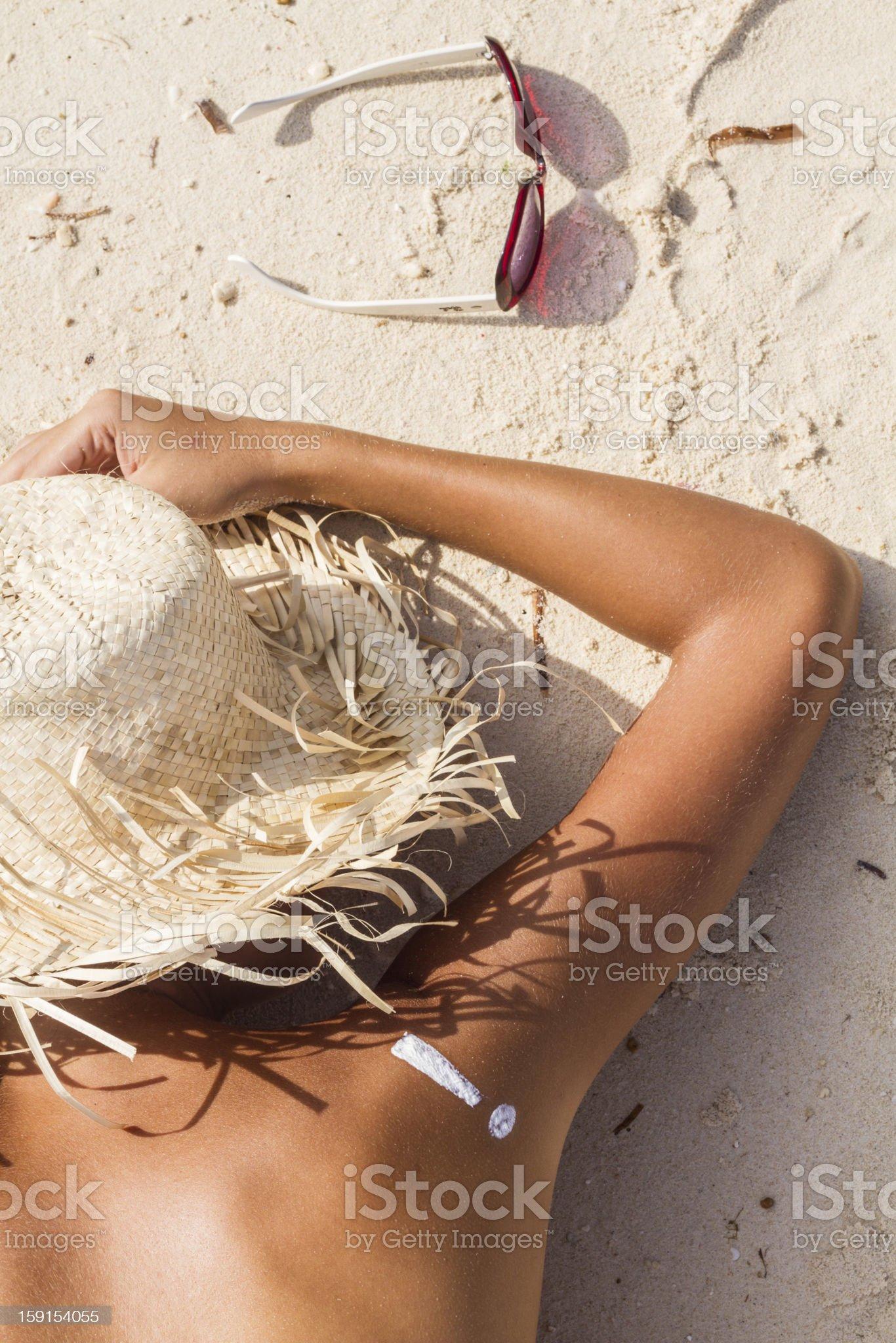 Skin Warning royalty-free stock photo