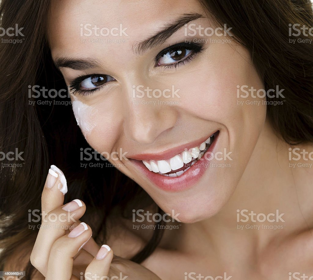 Skincare concept royalty-free stock photo
