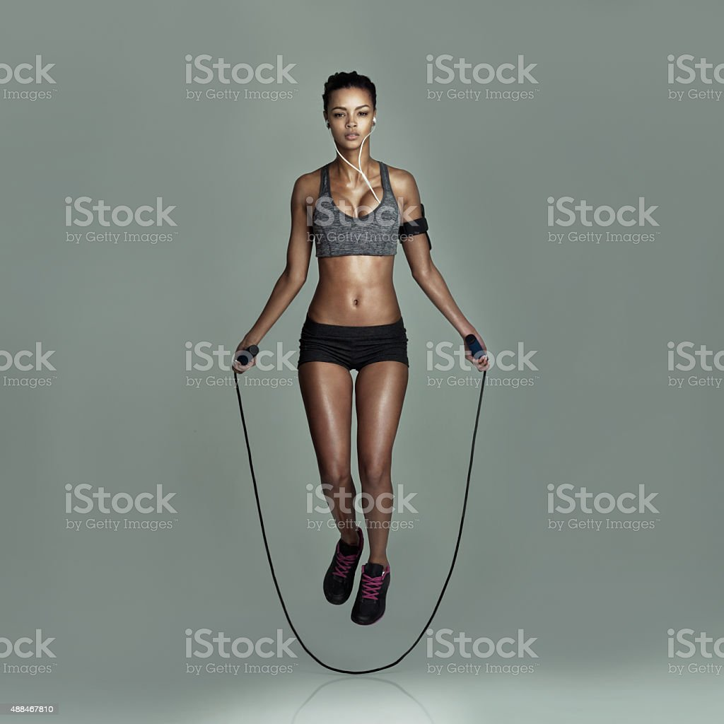 Skip a workout? Never! stock photo