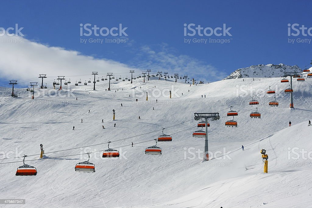 skipiste1 stock photo