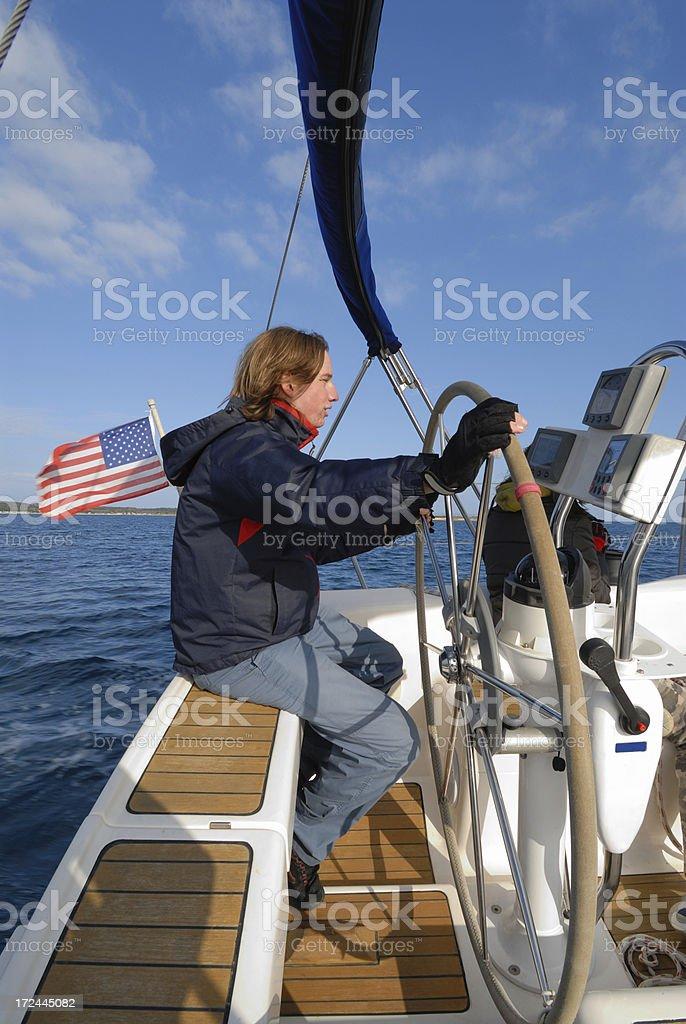 skipper stock photo