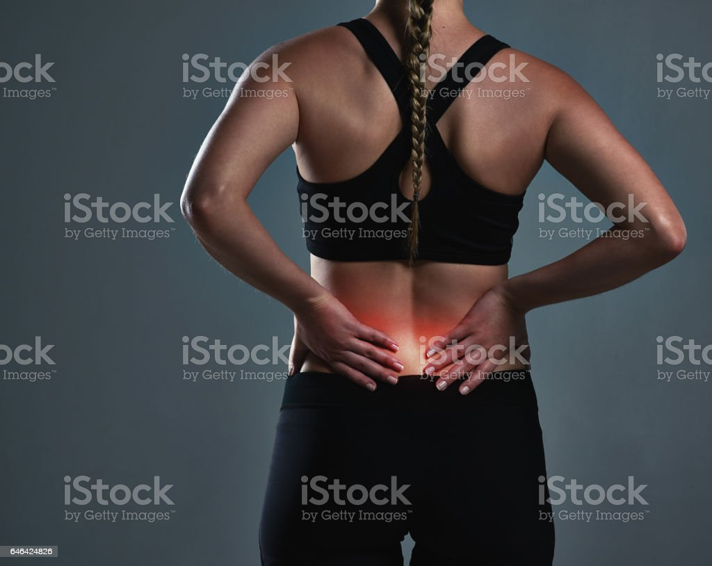 Skipping the warmup can result in painful muscle tears stock photo
