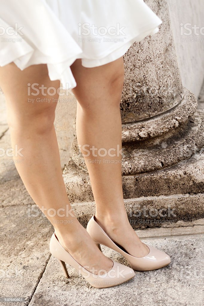 Skirt of a Woman stock photo