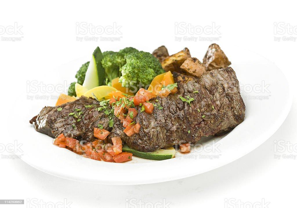 Skirt Steak royalty-free stock photo