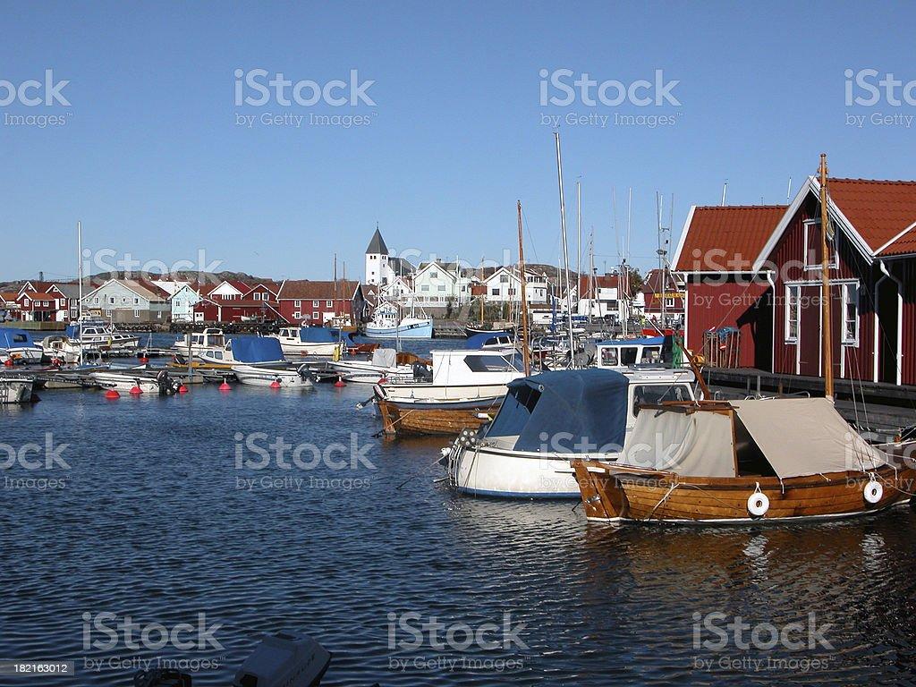 Skärhamn royalty-free stock photo