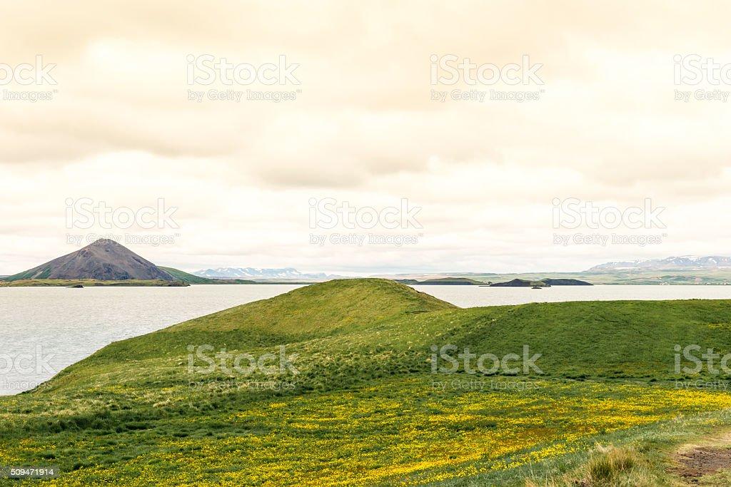 Skútustaðir, Akureyri - Iceland stock photo
