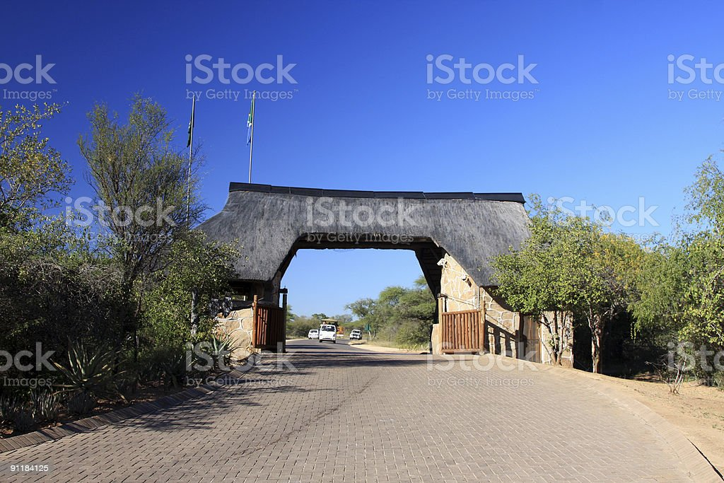 Skukuza in Kruger Park, South Africa royalty-free stock photo