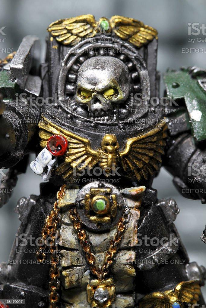 Skull and War stock photo
