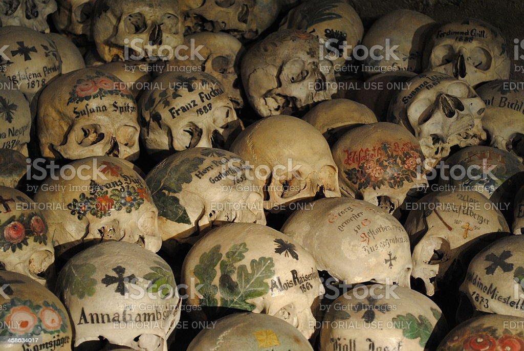 Skulls and Bones royalty-free stock photo