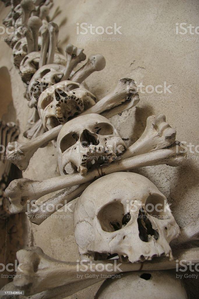 Skulls and Crossbones royalty-free stock photo
