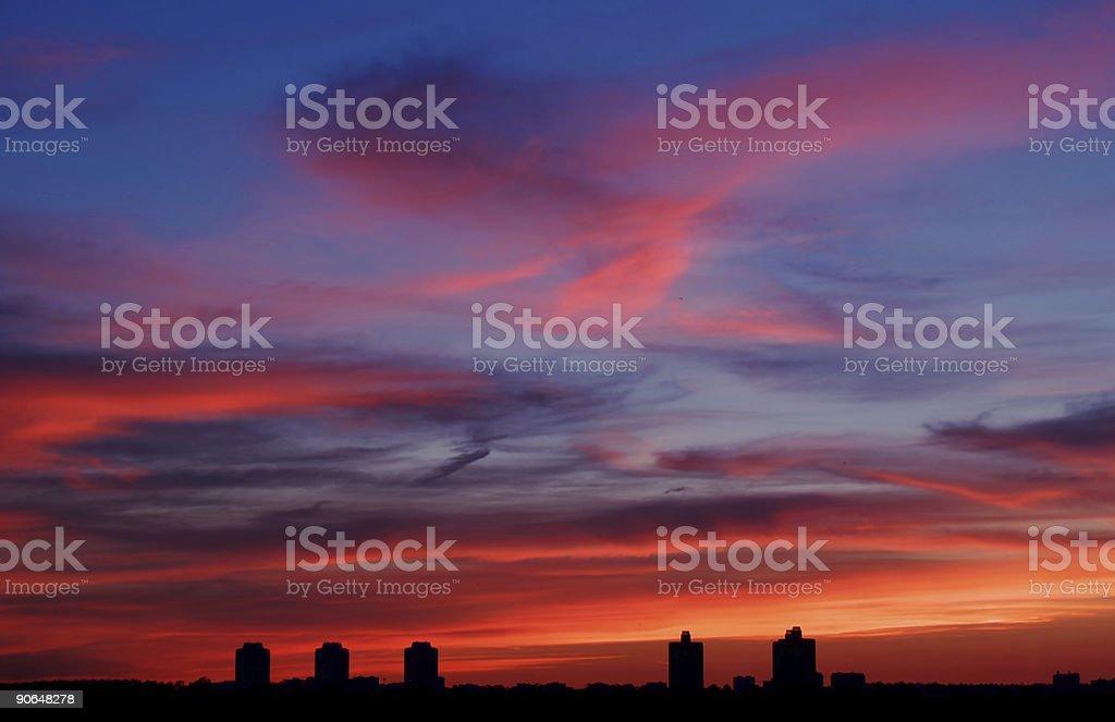 Sky [1] royalty-free stock photo