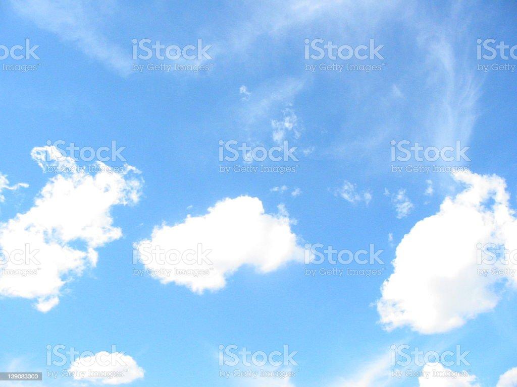 Sky 3 royalty-free stock photo