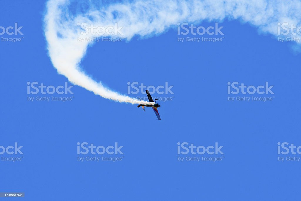 Sky Aerobatics royalty-free stock photo