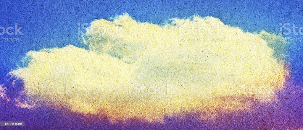 Sky and cloud grunge background stock photo