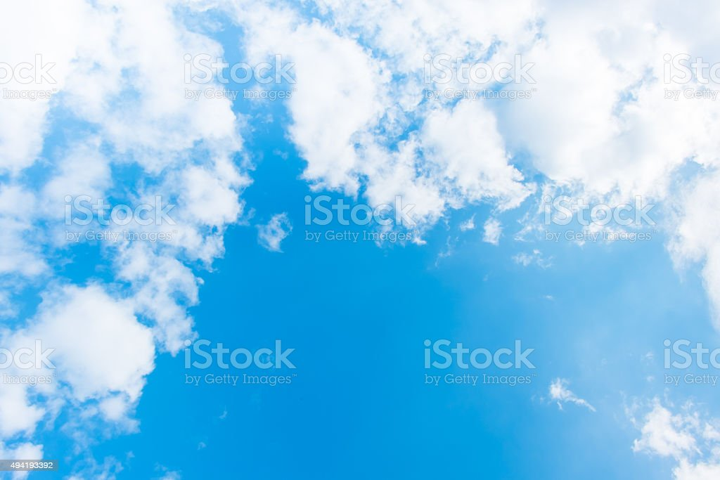 sky and cloud ,nature background stock photo