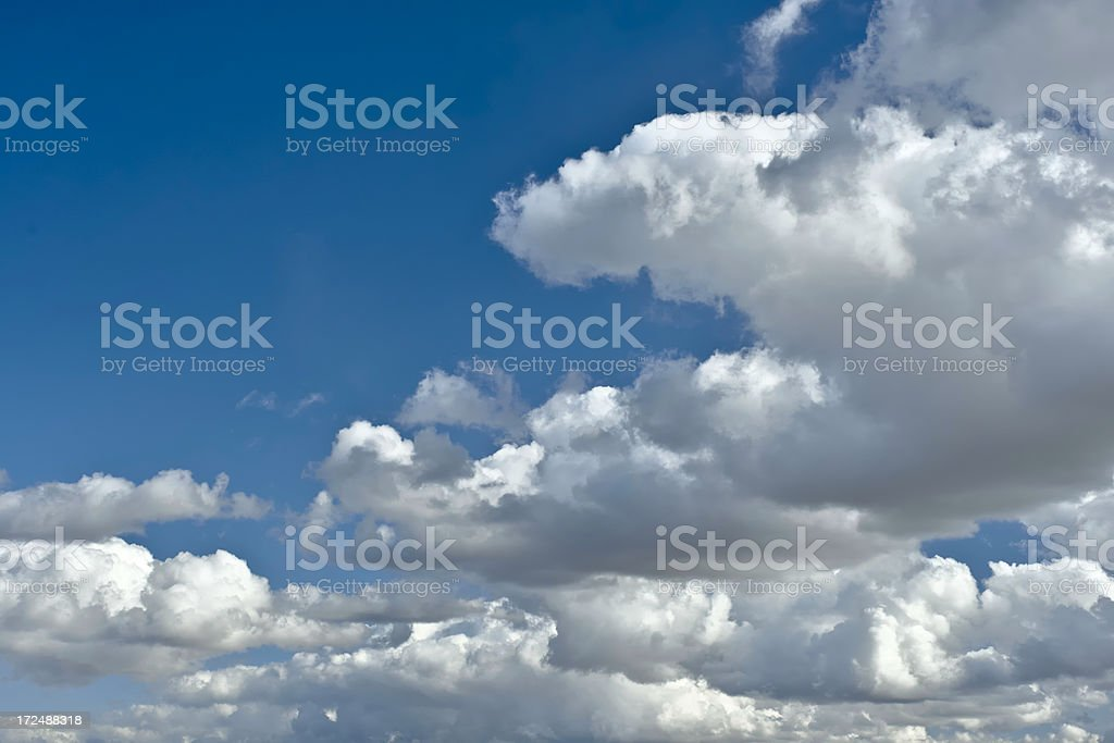 Sky and Clouds Background XXXL royalty-free stock photo