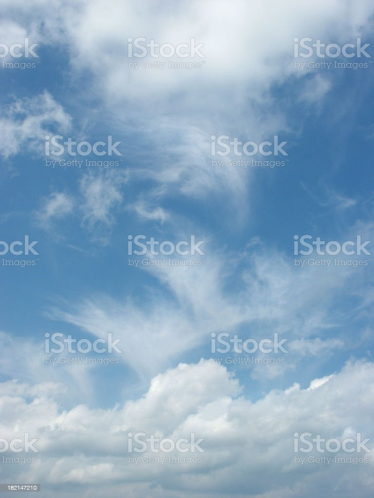 Sky and Clouds nr. 100.000 royalty-free stock photo