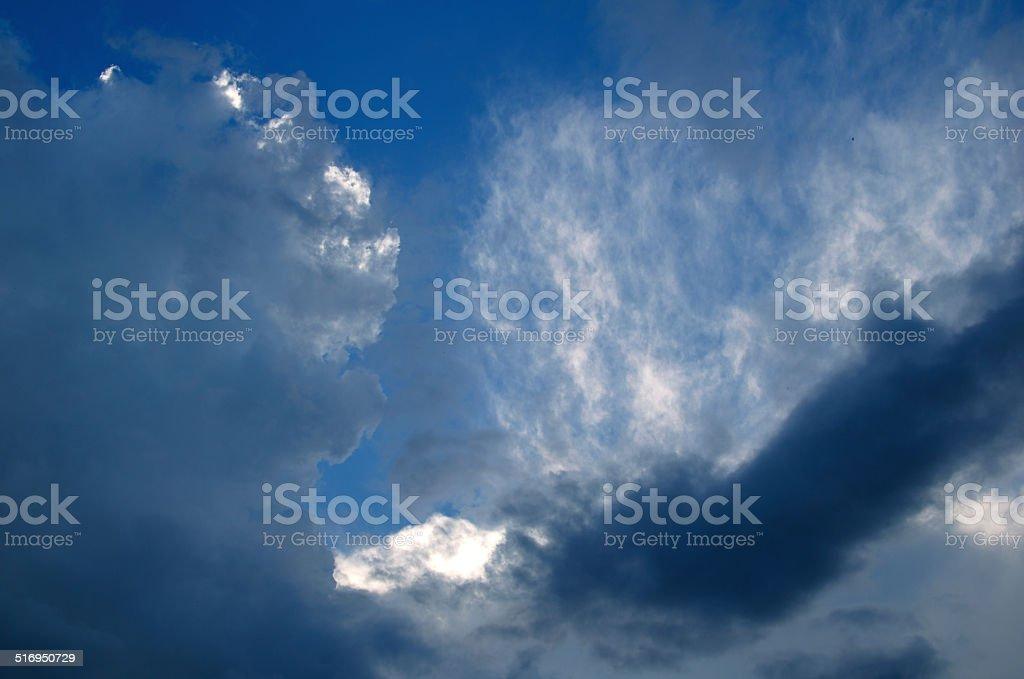 Céu e nuvens foto de stock royalty-free