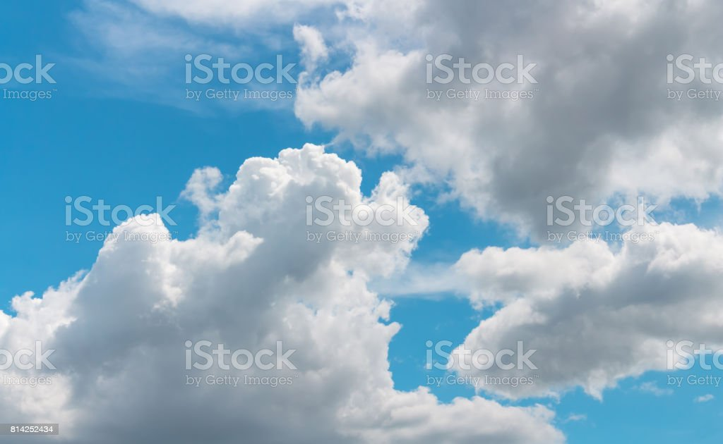 sky and nature stock photo
