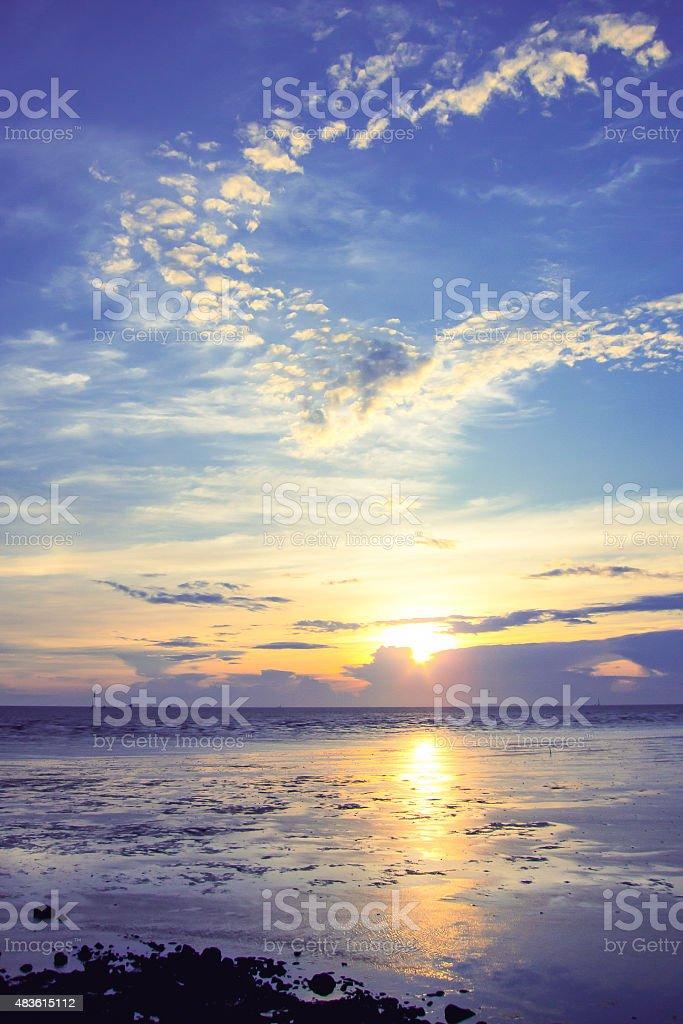 sky and sea on holiday royalty-free stock photo