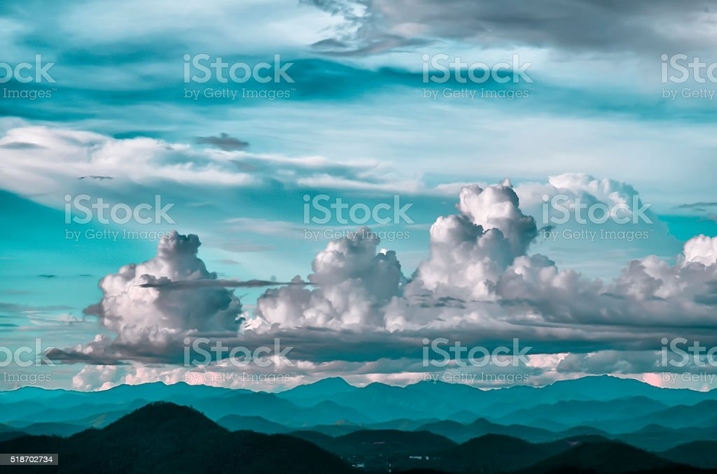 Sky background  Blurred stock photo