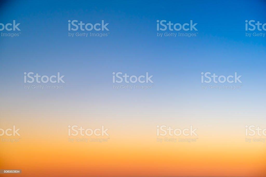 sky background on sunset stock photo