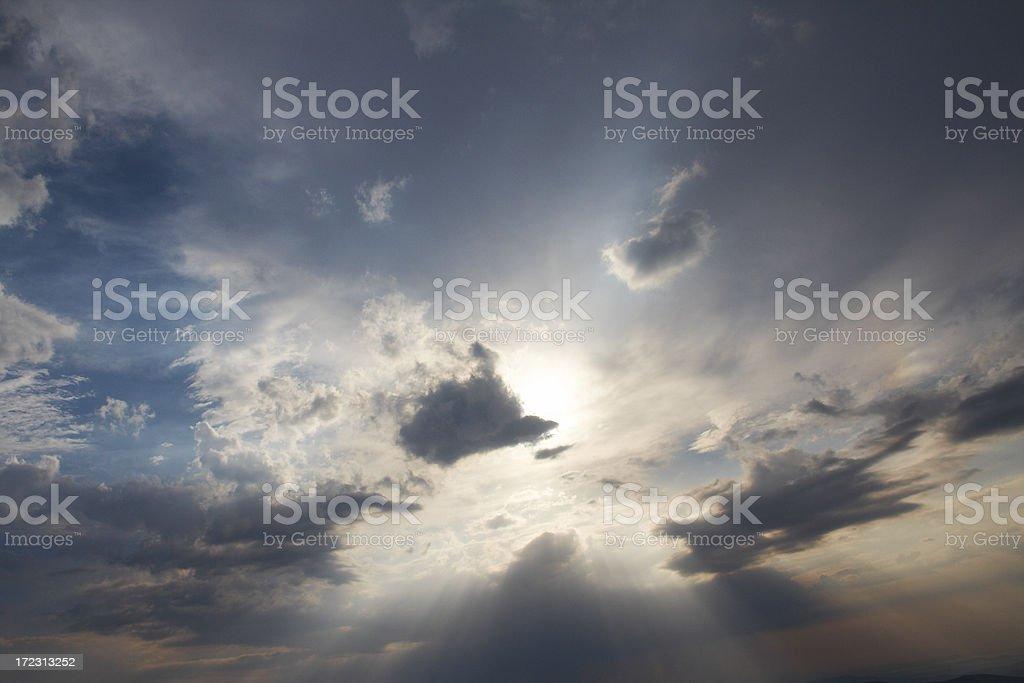 Sky background royalty-free stock photo