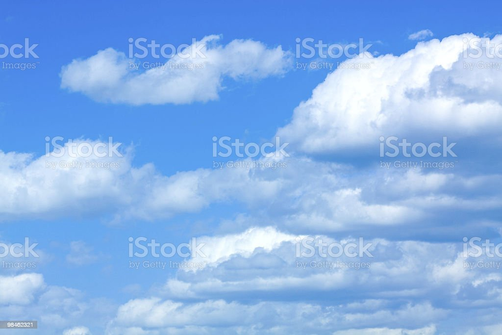 Sky background. royalty-free stock photo