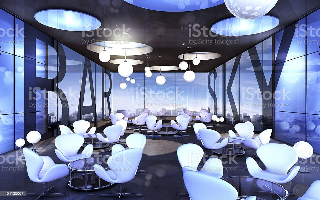 sky bar stock photo
