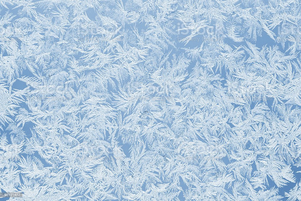 Sky blue frost royalty-free stock photo