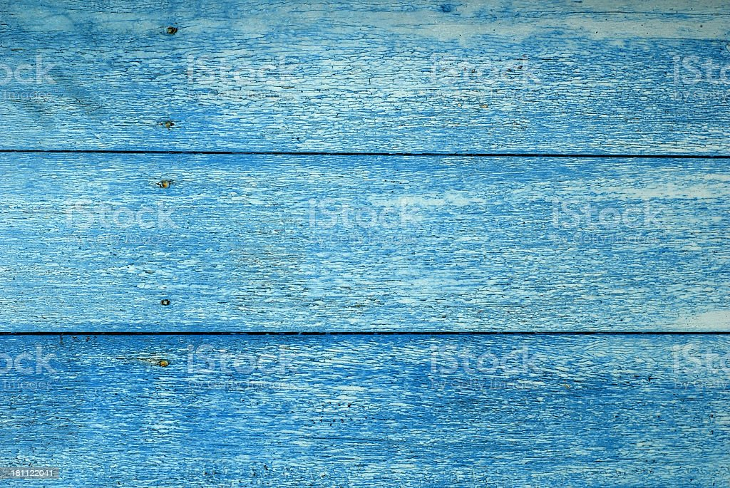Sky Blue Wooden Background royalty-free stock photo