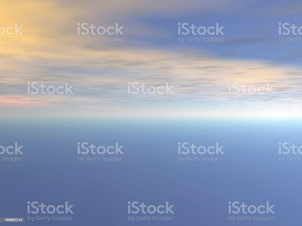 sky blue1 abstract stock photo