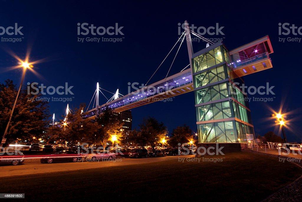 Sky Bridge stock photo