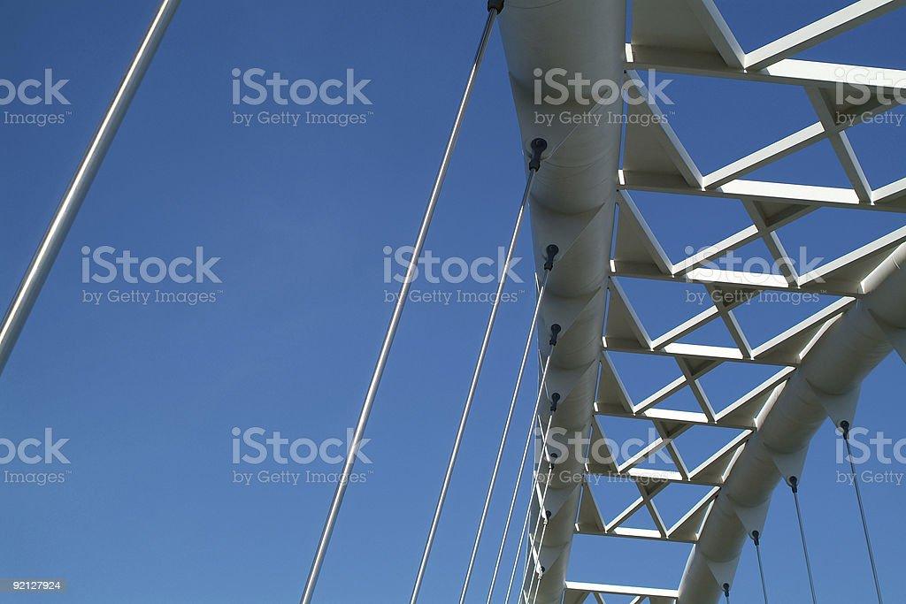 Sky Bridge royalty-free stock photo