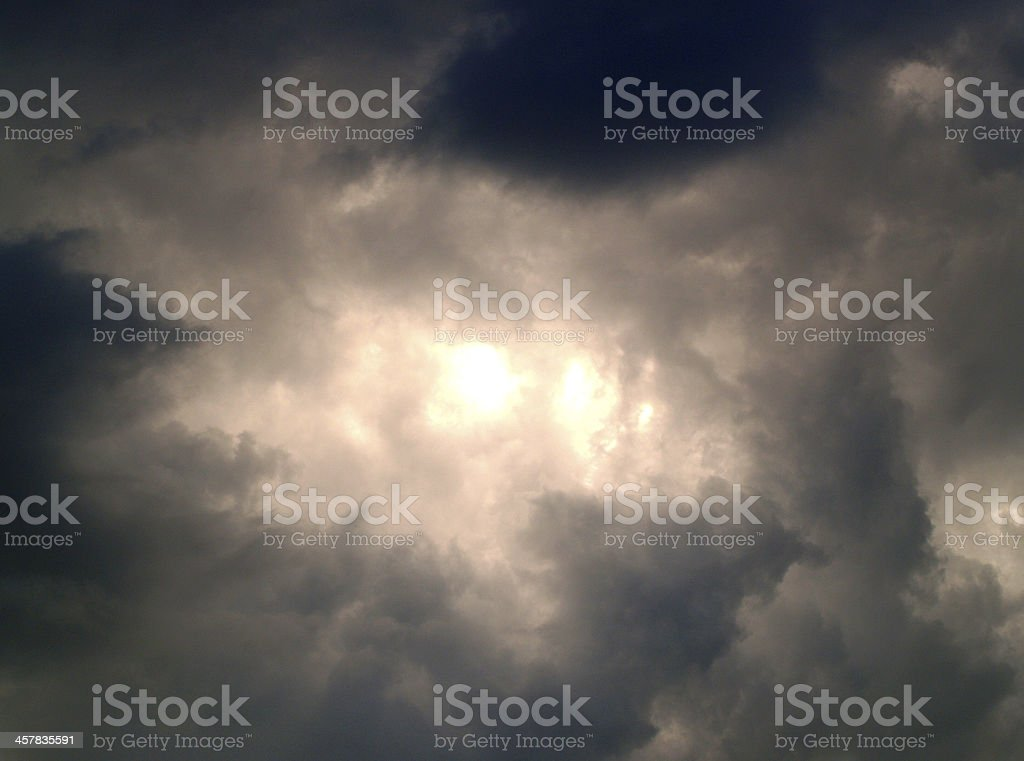 Sky Clouds Background royalty-free stock photo
