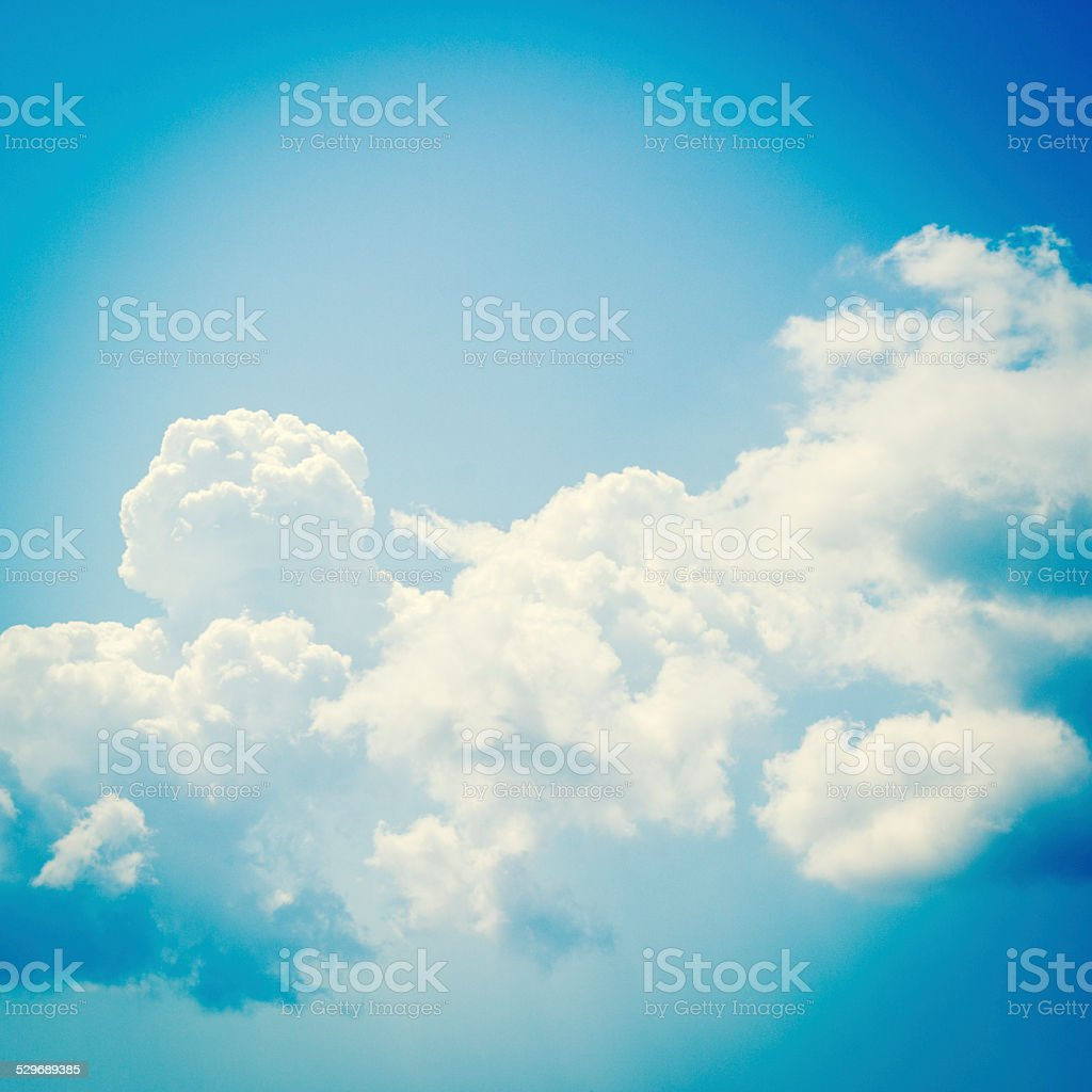 sky clouds backgrounds stock photo