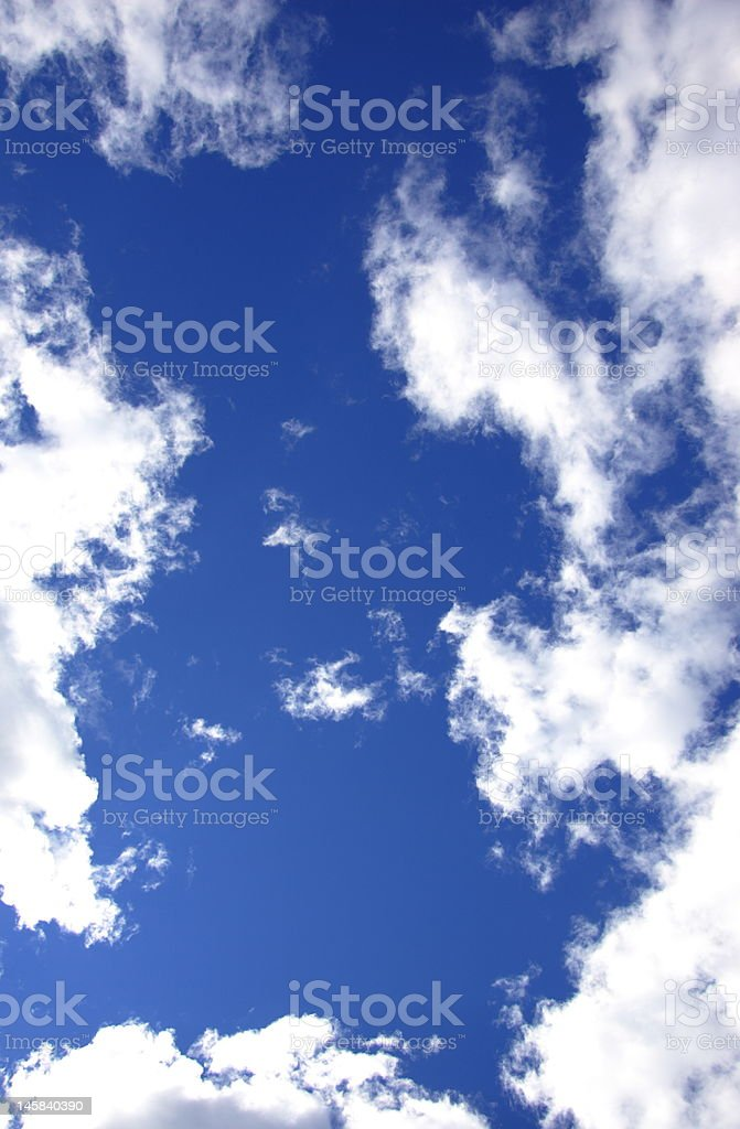 Sky Clouds Frame stock photo