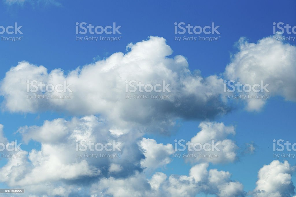 Sky clouds. royalty-free stock photo